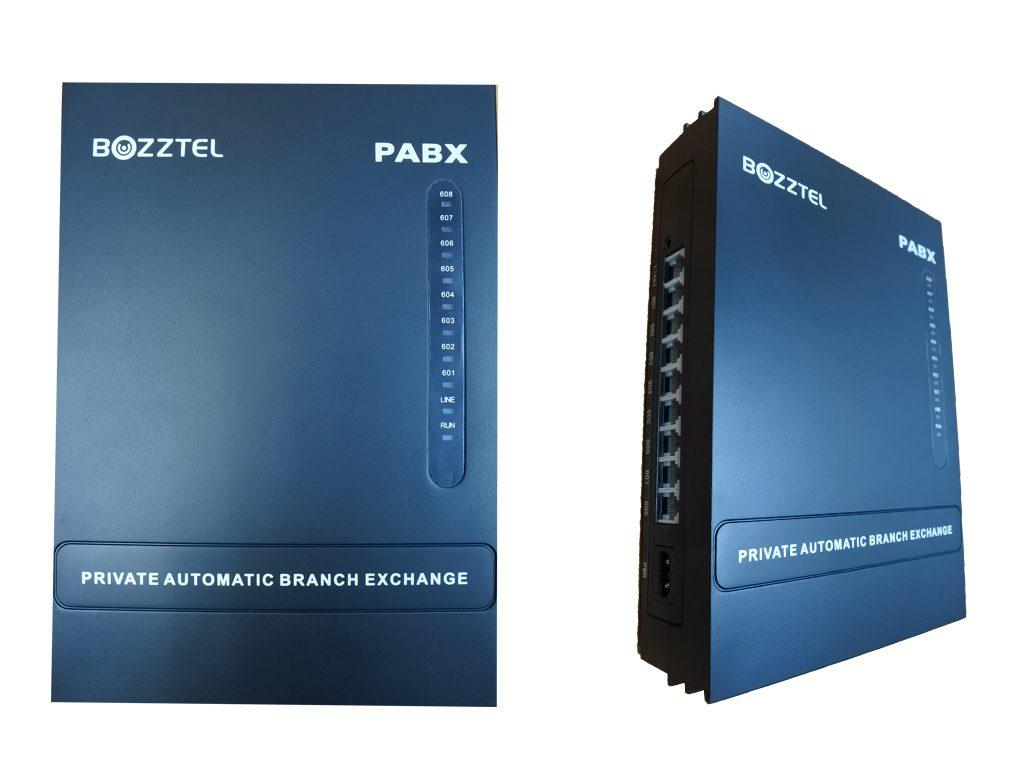 ตู้สาขาโทรศัพท์ Bozztel PABX รุ่น MS 108